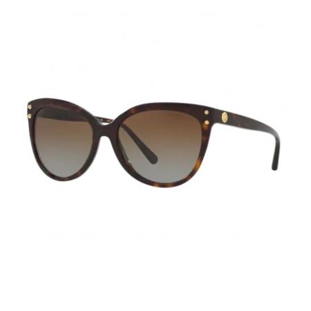 Óculos Solar Michael Kors Jan Mk2045 3006t5 55 Marrom Tartaruga Lente Marrom Degradê Polarizada