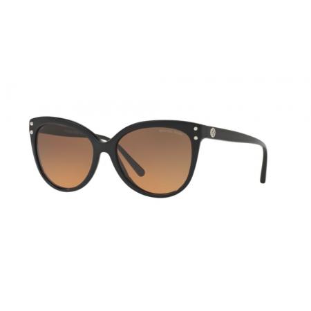 Óculos Solar Michael Kors Jan Mk2045 317711 55 Preto Lente Cinza Degradê