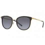 Óculos Solar Michael Kors Mk1010 1100t3 54 Preto Lente Cinza Polarizado