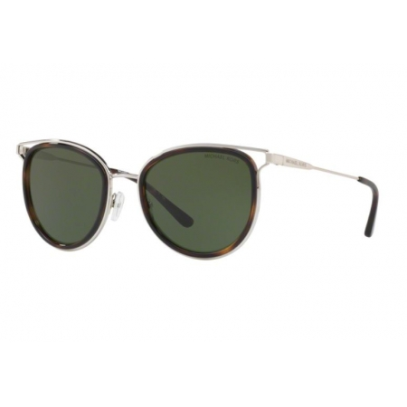 Óculos Solar Michael Kors Mk1025 120071 52 Marrom Tartaruga Lente Verde