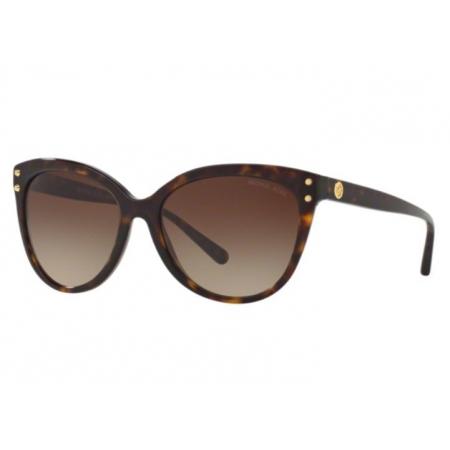 Óculos Solar Michael Kors Mk2045 300613 55 Havana Lente Marrom Degradê