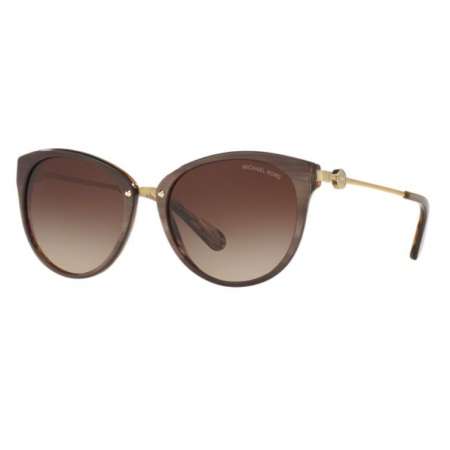 Óculos Solar Michael Kors Mk6040 321213 55 Bronze Lente Marrom Degradê