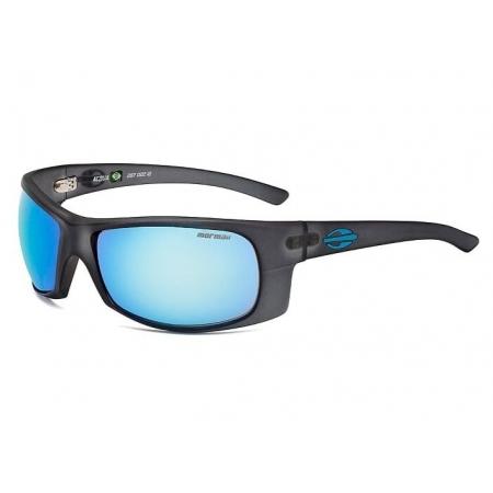 Óculos Solar Mormaii Acqua 287d2212 Preto Fosco Lente Azul