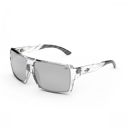 Óculos Solar Mormaii  Aruba 2 m0119 dj709  60 Transparente Lente Cinza Espelhada