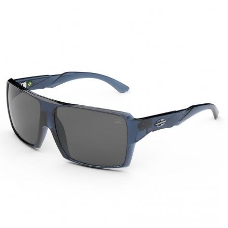 Óculos Solar Mormaii Aruba 2 M0119k0303 Azul Translucido Lente Cinza Polarizada