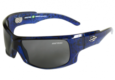 Óculos Solar Mormaii Asturias 28552101 Azul Lente Cinza