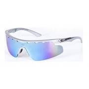 Óculos Solar Mormaii Athlon 16643612 Cinza Lente Azul Espelhada