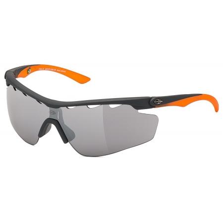 Óculos Solar Mormaii Athlon 3 - Com Duas Lentes - M0005g0809 Preto e Laranja