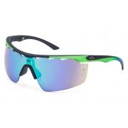 Óculos Solar Mormaii Athlon 4 M0042AAD85 Preto Lente Cinza Flash Verde