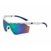 Óculos Solar Mormaii Athlon 5 M0063B6585 Branco Lente Verde Espelhada