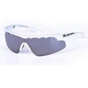 Óculos Solar Mormaii Athlon Com 2 Lentes 16643809 Branco Lente Cinza Flash Prata