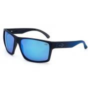 Óculos Solar Mormaii Carmel m0049a4197 Preto Fosco Lente Azul Espelhada