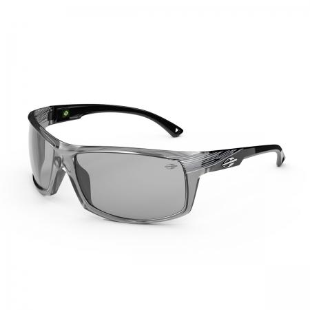 Óculos Solar Mormaii Dublin m0114dl209 Cinza Translúcido Lente Espelhada Cinza