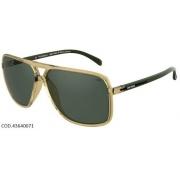 Óculos Solar Mormaii Flexxxa 2 43640071  Bege e Preto Lente Verde G15