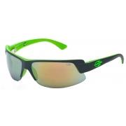 Óculos Solar Mormaii Gamboa Air 3 44123896 Cinza e Verde Lente Dourada Espelhada