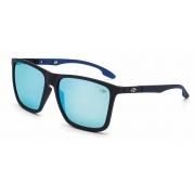 Óculos Solar Mormaii Hawaii  m0034adc12 Preto Fosco Lente Espelhada Azul