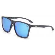 Óculos Solar Mormaii Hawaii m0034d5997 Cinza Fosco Lente Espelhada Azul