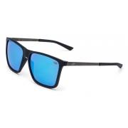 Óculos Solar Mormaii Hawaii Pato m0043a1697 Preto Fosco Lente Espelhada Azul