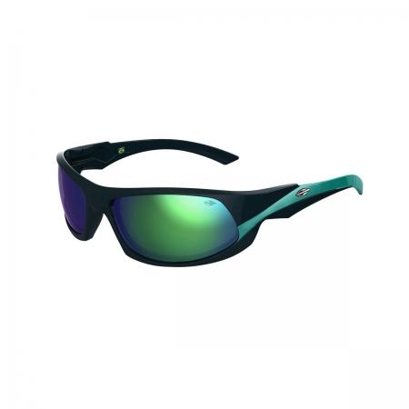 Óculos Solar Mormaii Itacaré 2 41205185 Preto Lente Verde Espelhada