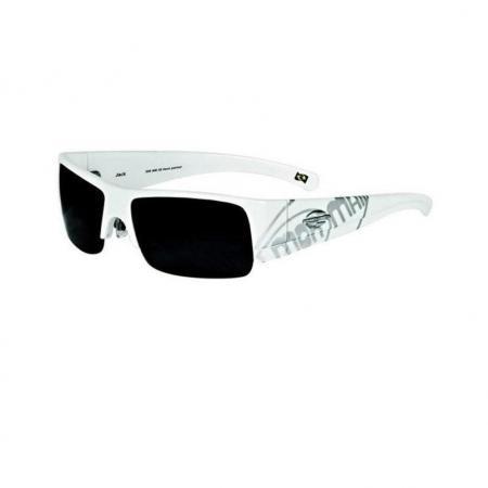 Óculos Solar Mormaii jack 33516838 Branco Fosco  Lente Degradê Cinza