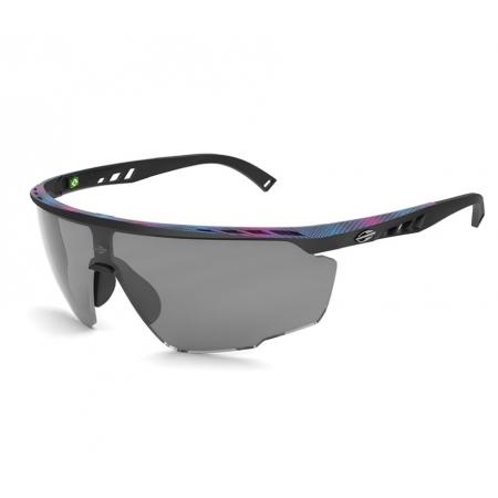 Oculos Solar Mormaii Leap M0093aha09 Preto Fosco Lente Cinza Flash Prata
