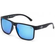 Oculos Solar Mormaii Monterey M0029a1497 - Preto Fosco - Lente Azul Espelhada