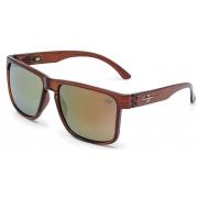 Oculos Solar Mormaii Monterey M0029j3996 MARROM  - LENTE DOURADO FLASH