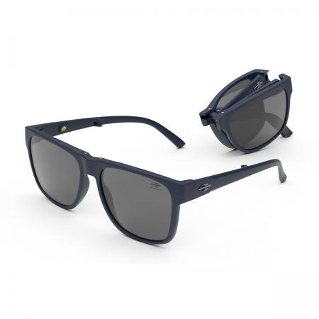 Óculos Solar Mormaii Origami m0111k3303 Azul Fosco Lente Polarizada Cinza