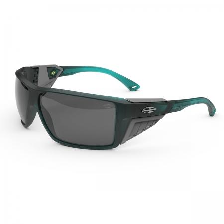 Óculos Solar Mormaii Side Shield m0121kcp01 Azul Translúcido  Lente  Cinza