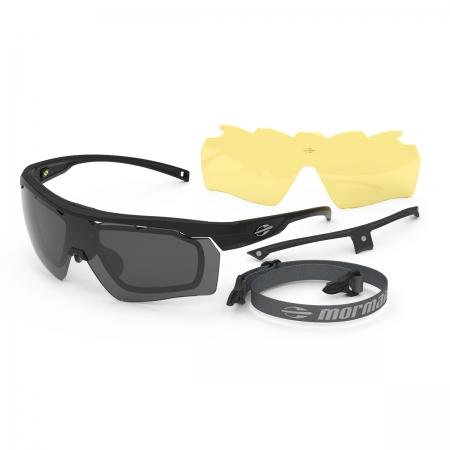 Óculos Solar Mormaii Smash 2 M0130a1401 Preto Fosco  Lente  Cinza