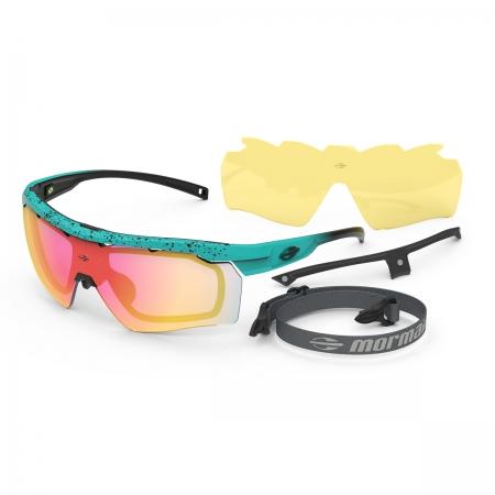Óculos Solar Mormaii Smash 2 M0130kd211 Azul Fosco  Lente Espelhada Vermelho