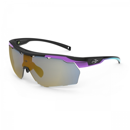 Óculos Solar Mormaii Smash M0129apf96 Violeta Fosco  Lente  Dourado