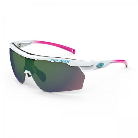Óculos Solar Mormaii Smash M0129bb193 Branco Brilho Lente Espelhada Verde