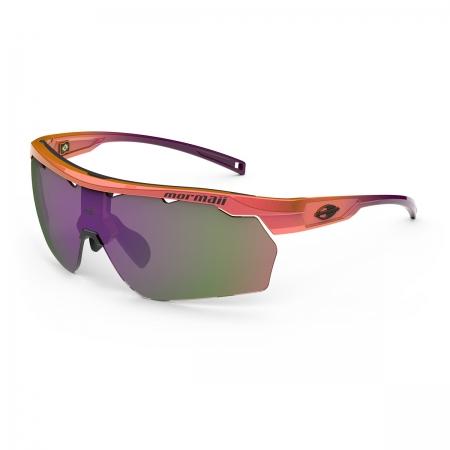 Óculos Solar Mormaii Smash M0129ca192 Laranja Brilho  Lente Espelhada Violeta