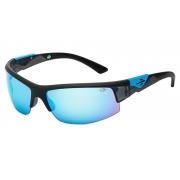 Oculos Sol Mormaii Wave 44909112 Preto Fosco Lente Azul Espelhada