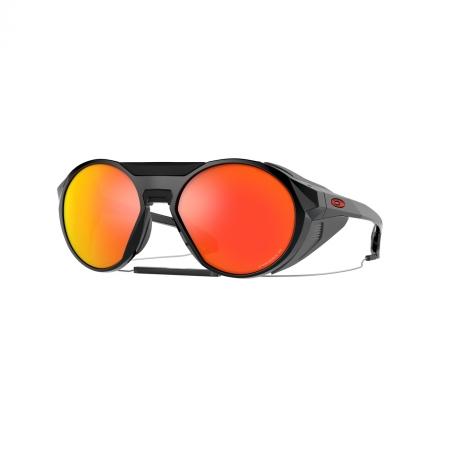 Óculos Solar Oakley Clifden oo9440 10 54 Preto  Lente Vermelho Polarizada