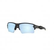 Óculos Solar Oakley Flak 2.0 Xl oo9188 g3 59 Preto Camuflado Lente Azul Polarizada
