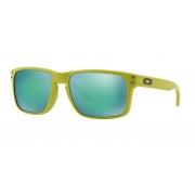 Oculos Solar Oakley Holbrook Matte Fern Jade Iridium Polarizado 910272 55