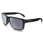 Oculos Solar Oakley Holbrook Polished Black Grey Polarizado 910202 55