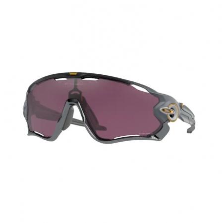 Óculos solar oakley jawbreaker oo9290 63 preto fosco  lente prizm preto