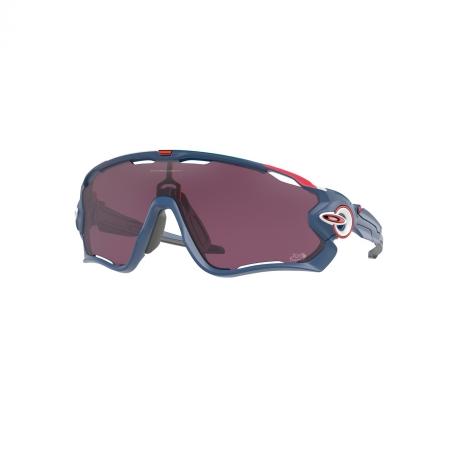Óculos Solar Oakley Jawbreaker oo9290 64 135 Azul  Lente Preto Prizm