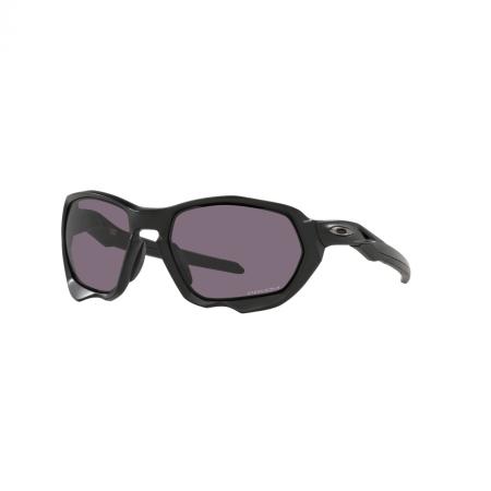 Óculos Solar Oakley Plazma oo9019 01 59 Preto  Lente Cinza Prizm