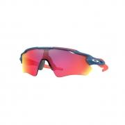 Óculos Solar Oakley Radar Ev Path oo9208 c3 140 Azul  Lente Vermelho Prizm