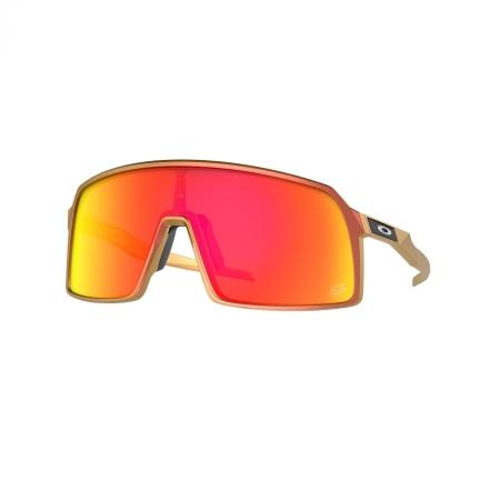 Óculos solar oakley sutro oo9406 48 vermelho fosco  lente prizm vermelho