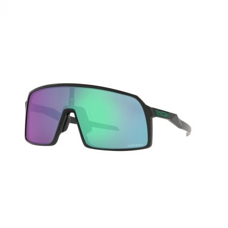 Óculos Solar Oakley Sutro oo9406 52 37 Preto  Lente Verde Espelhada