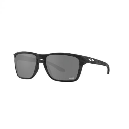 Óculos Solar Oakley Sylas oo9448 1957 57 Preto  Lente Preto Espelhada