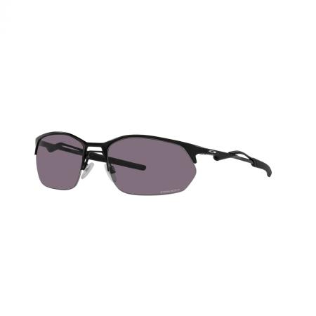 Óculos Solar Oakley Wire Tap 2.0 oo4145 01 60 Preto  Lente Cinza Espelhada