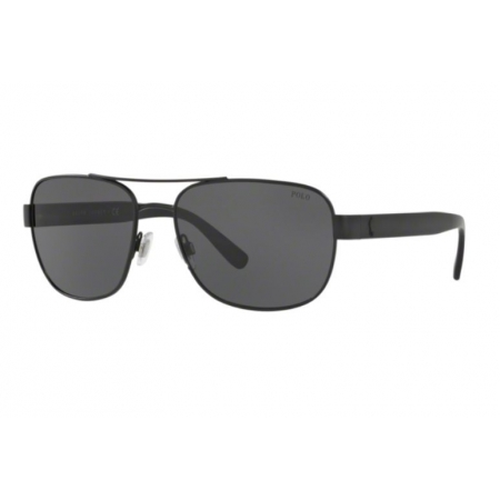 Óculos Solar Polo Ralph Lauren Ph3101 903887 60 Preto Lente Cinza