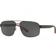Óculos Solar Polo Ralph Lauren Ph3112 903887 62 Preto Lente Cinza