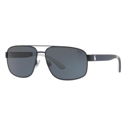 Óculos Solar Polo Ralph Lauren Ph3112 930387 62 Azul Lente Cinza